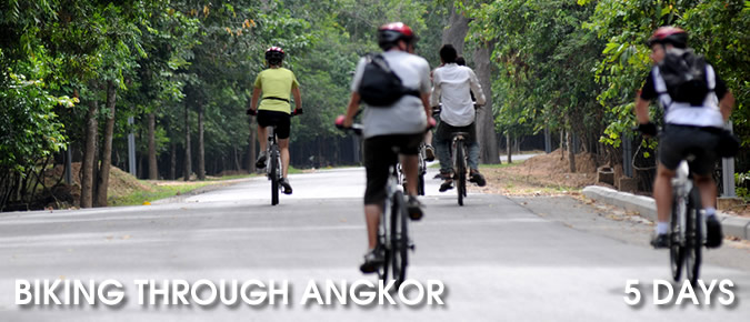 Biking- Through- Angkor - 5 Days-2