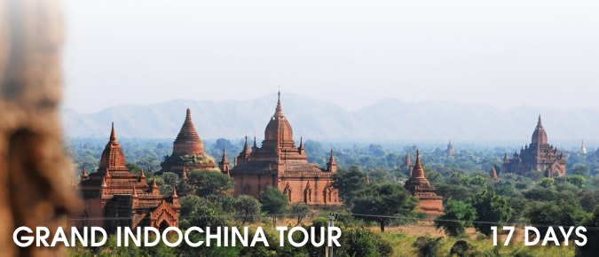 Grand Indochina Tour - 17 Days