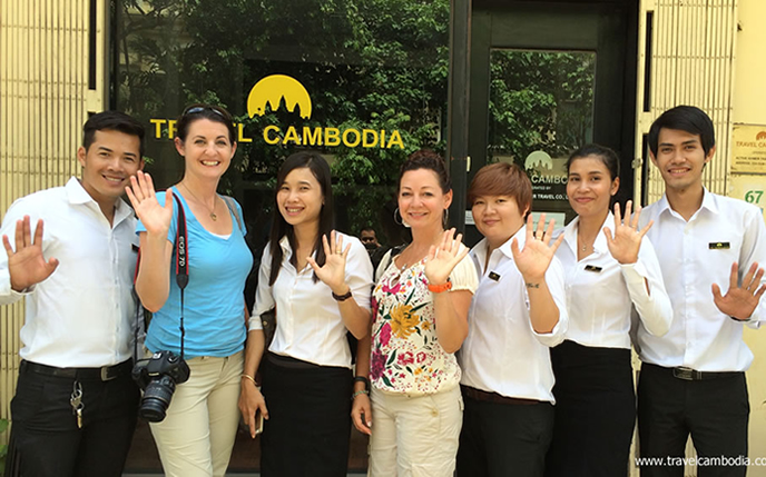 Travel Cambodia SiemReap Team1