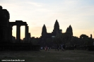 Early Sunrise In Angkor
