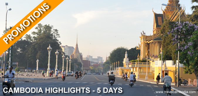 Promotion Cambodia Highlights - 5 Days