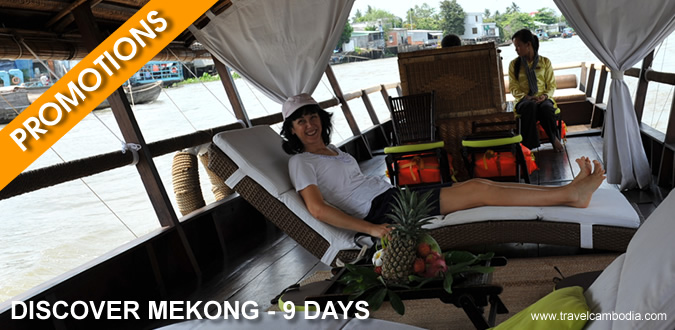 Promotion Discover Mekong - 9 Days